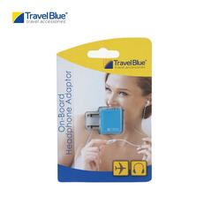 Travel Blue TB561 Airline Headphone Adaptor - Blue