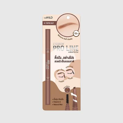 BEWILD Eyebrow Pro Line #01 Toffee Nut 0.16 G.