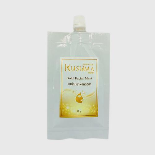 Kusuma Herbs - Gold Facial Mask - 15 g.