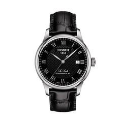 TISSOT Le Locle Gent Steel ROM  39.3 MM (Black Dial)