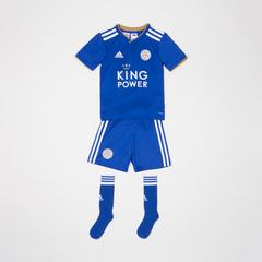 Leicester City Football Club Home Mini Kit 2018-2019 Size 3-4 years