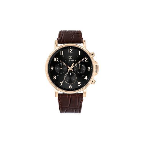 Tommy Hilfiger Daniel leather Gents Watch