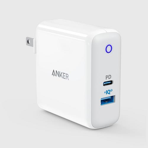 Anker PowerPort II PD with 1PD (30W) and 1 PIQ2.0 (19.5W) White