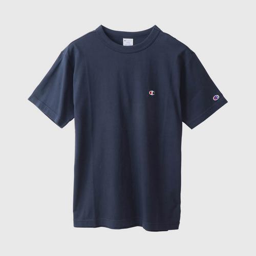 CHAMPION Men Basic T-Shirt Navy Size S