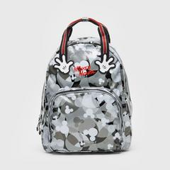 "Disney Mickey Mouse Backpack 14"" -Grey"