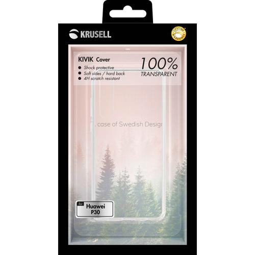 KRUSELL Kivik Cover Huawei P30 Transparent