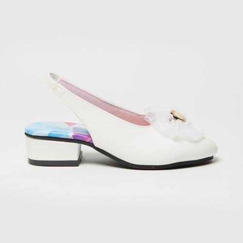 Disney Princess Mules Shoes White No.25(17cm)