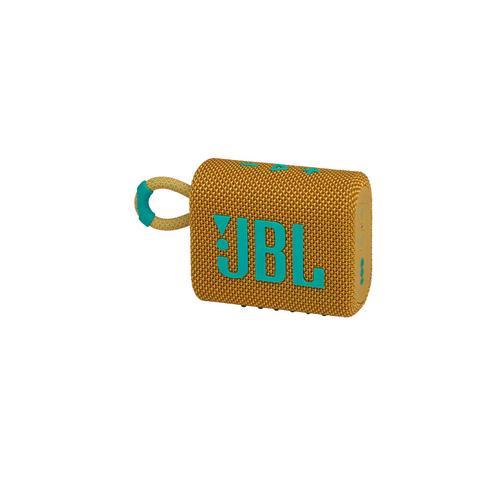 JBL GO 3 Portable Waterproof Speaker - Yellow