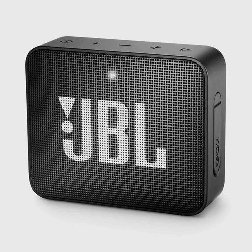 JBL GO 2 Portable Bluetooth Speaker (Black)