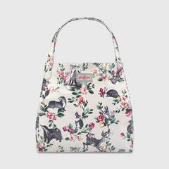 Cath Kidston Shoulder Tote  Badgers and Friends Stone Multi