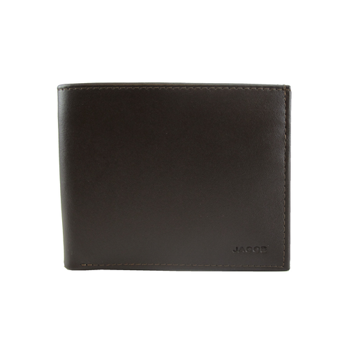 JACOB MEN US WALLET (BROWN)