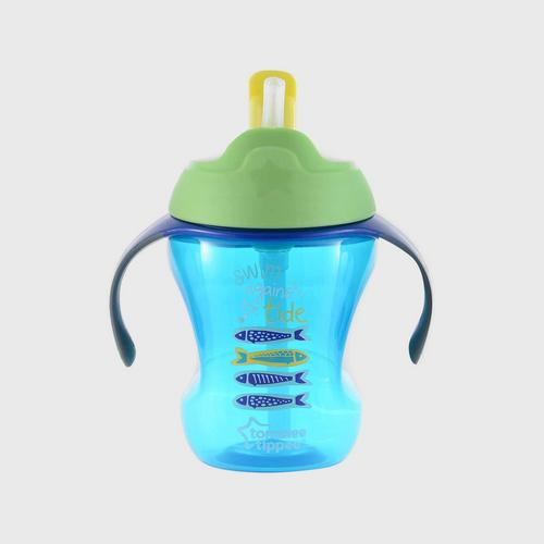TOMMEE TIPPEE  Easy Drink Straw Cup - Blee - Training Straw  Cup - Blue