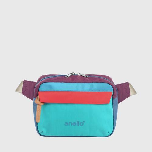 ANELLO OS-S058-NOSTALGIC Reg. Waist bag-GREEN