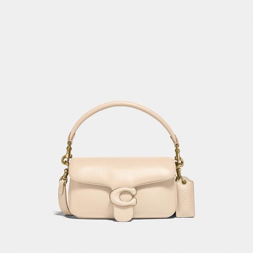 蔻驰COACH Pillow Tabby Shoulder Bag 18 -B4/Ivory