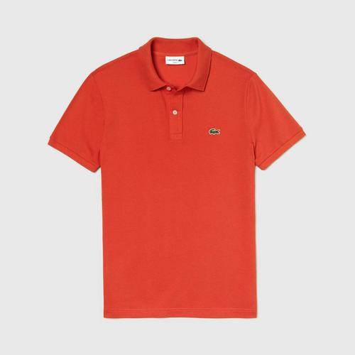LACOSTE Men's Slim fit Lacoste Polo Shirt in petit piqué X50 - Size 3