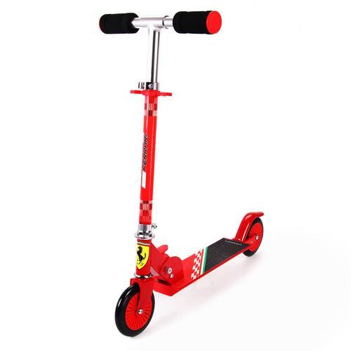Mesuca Ferrari Kid 2 Wheels Scooter Red