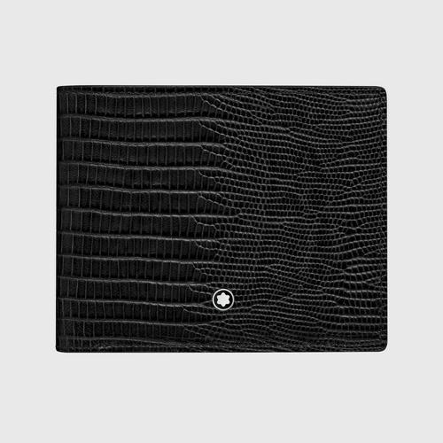MONTBLANC Meisterstück Selection Lizard Wallet 6cc