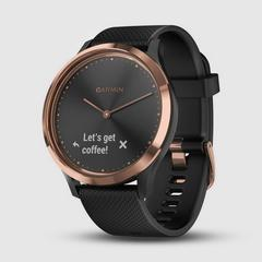 GARMIN Vivomove HR Sport Black-Rose Gold (Large size)