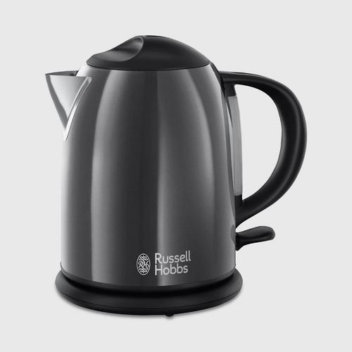 RUSSELL HOBBS COLOURS PLUS COMPACT STORM GREY KETTLE (20192-70)