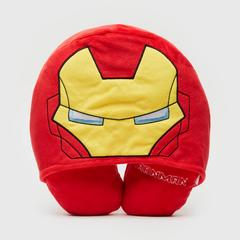 MARVEL Ironman Neck pillow with Hoodie