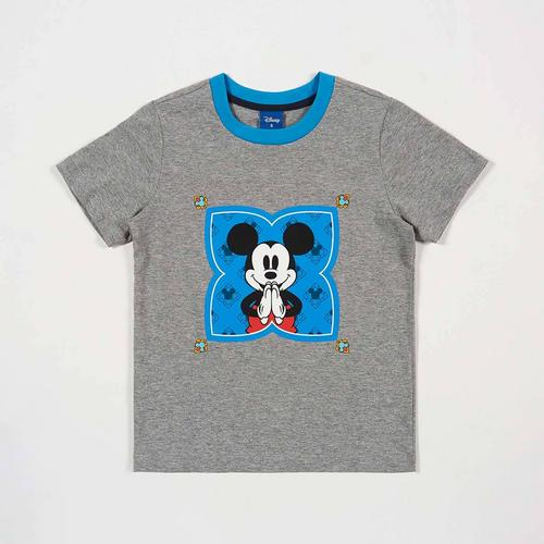 Disney Boy T-Shirt Mickey-Sawasdee Grey-S