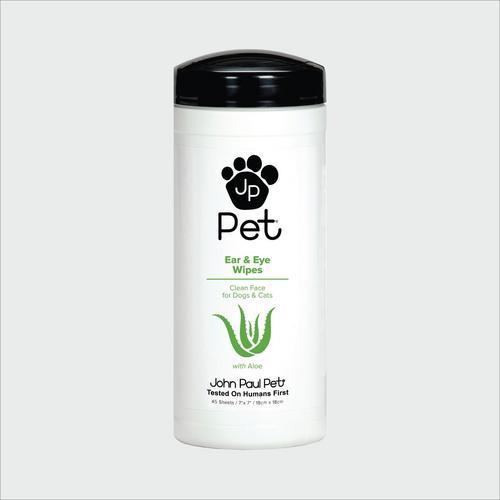 John Paul Pet Ear & Eye Pet Wipes 45 sheets