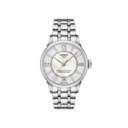 TISSOT Chemin Lady Steel 30mm (White MOP Dial)