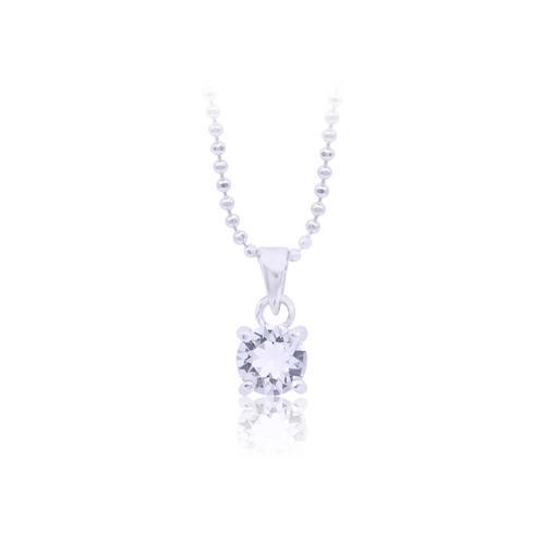 12VICTORY Round Diamond Necklace