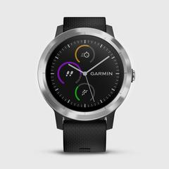 GARMIN Vivoactive 3 运动手表 Black & Stainless 43.0克