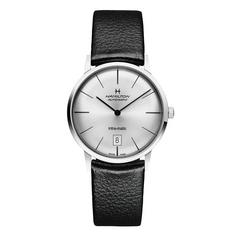 HAMILTON L Intra-matic, steel, silver