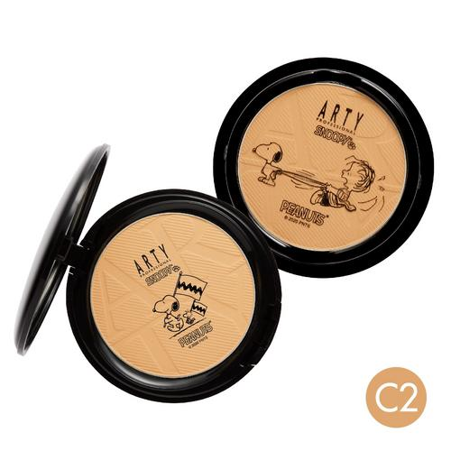ARTY PROFESSIONAL X SNOOPY PERFECT POWDER FOUNDATION SPF38 PA+++ - C2