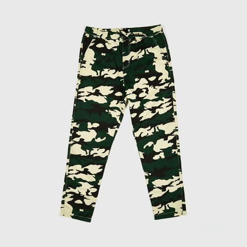 MOTTOM JOGGER PANTS GREENCAMO SIZE S (PACK1)