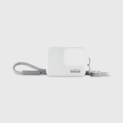 GoPro Sleeve+Lanyard - White