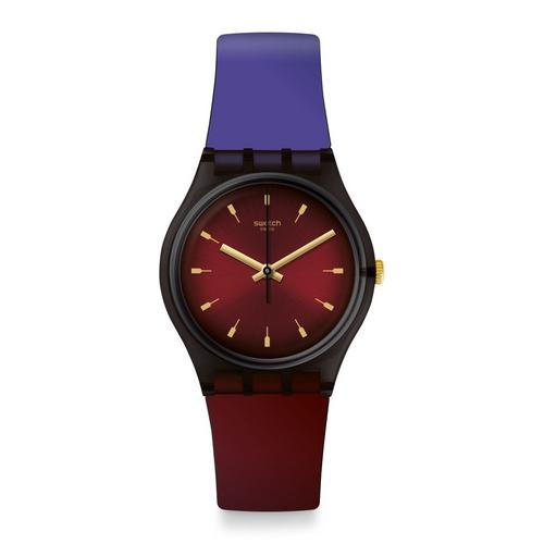 斯沃琪 SWATCH Purepurple 石英表 (GB308) - 34mm
