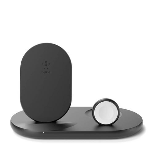 Belkin 3-in-1 Wireless Charger for AppleDevices - Black