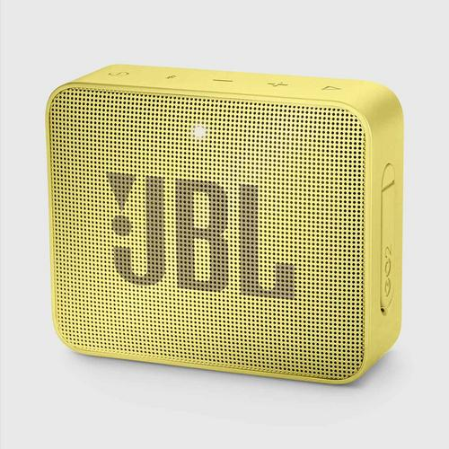 JBL GO 2 Portable Bluetooth Speaker (Yellow)