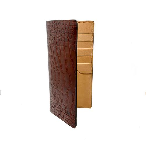 Container Leather Long Wallet 9 x 19.5cm