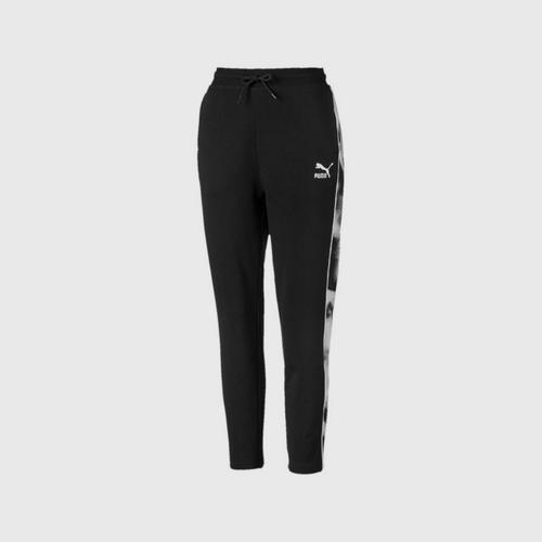 PUMA Track Pants W/Cloud Pack T7 Cotton Black SIZE XS