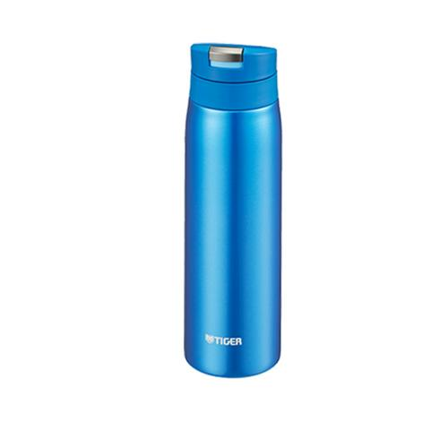 TIGER Stainless Steel Vacuum Bottle 500 ml.  MCX - Blue