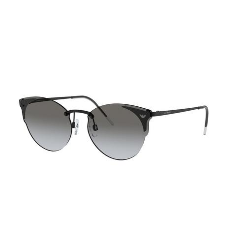 EMPORIO ARMANI Matt Black 58mm Sunglasses