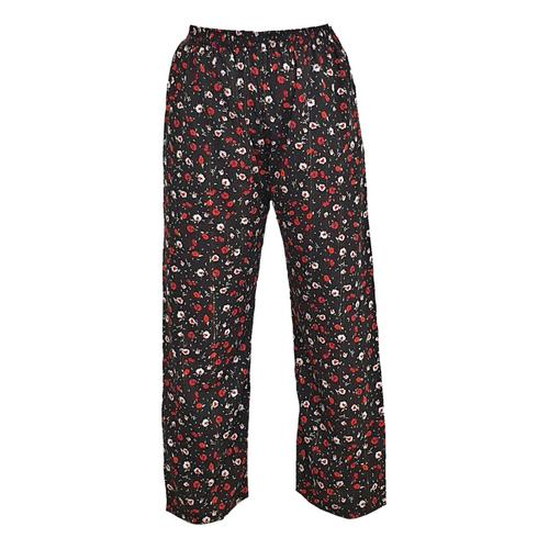 WATER SCENT CASUAL PANTS ENGLISH FLOWER (Free Size)