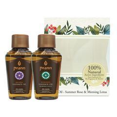 PRANN Rose&Lotus Massage Oil Mini Set (2x30 ml)