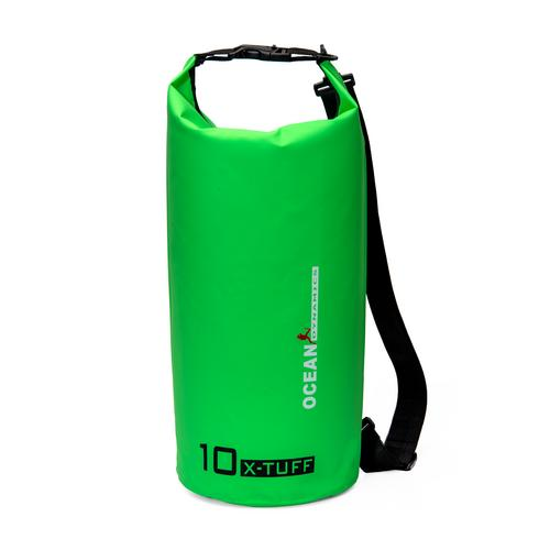 OCEAN DYNAMICS Dry Bag - 10L X-Tuff Green
