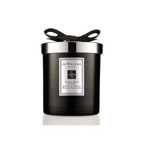 祖·玛珑 丝绒玫瑰与乌木香氛蜡烛