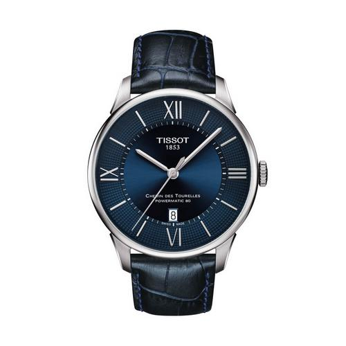 TISSOT Chemin Gent Steel 42mm (Blue Dial)