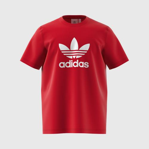 ADIDAS Trefoil T-Shirt - Size L (Scarlet) UK