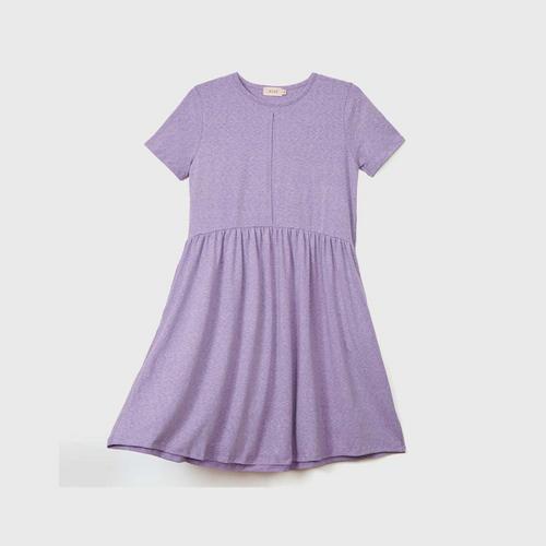 NITAN Acacia Dress S Purple Heart