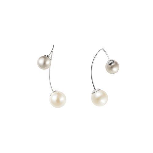 GROSSE Pearl Amuse pierced earrings