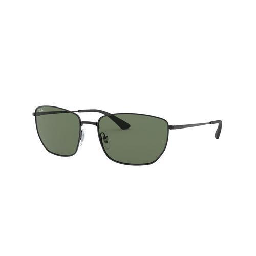 RAYBAN Black Metal Sunglasses 0RB3653002/7160
