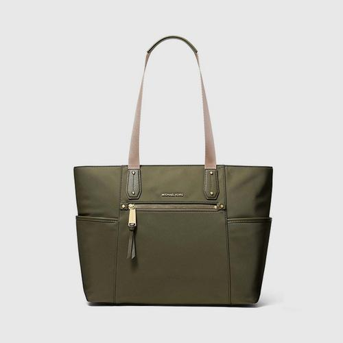 MICHAEL KORS Poly Large Nylon Tote - Olive